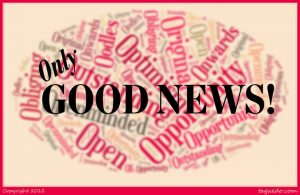 as personal energy coach I started the Only Good News page on Facebook