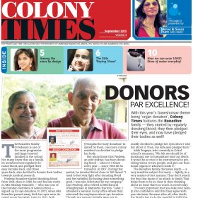 Colony Times front page